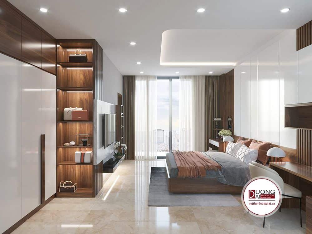 Phòng ngủ Master thiết kế độc đáo