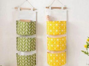 Túi vải để đồ họa tiết hiện đại trẻ trung GHS-6306
