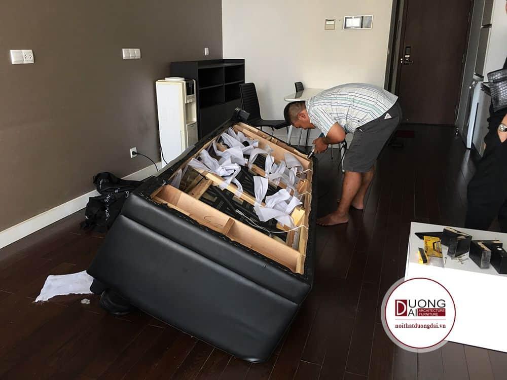 Bọc Ghế Sofa Da Thật Tại Nhà |Bọc Ghế Sofa Giá Rẻ Theo Yêu Cầu |Xưởng Sản Xuất 1000m2