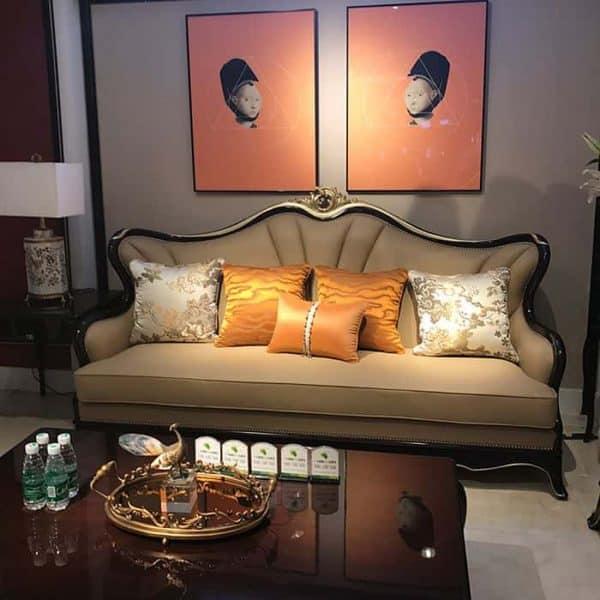 Ghế sofa tân cổ điển đẹp - SKYTC209