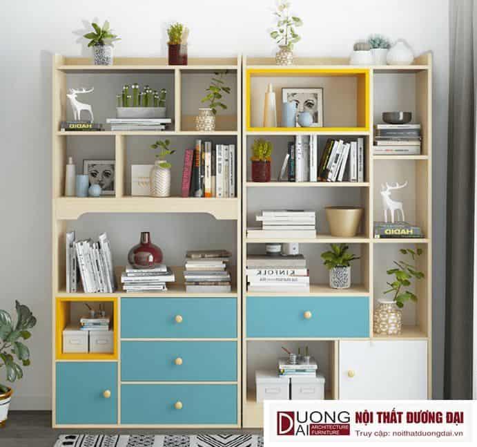 Giá Để Sách Trưng Bày Phòng Khách GHS-2204