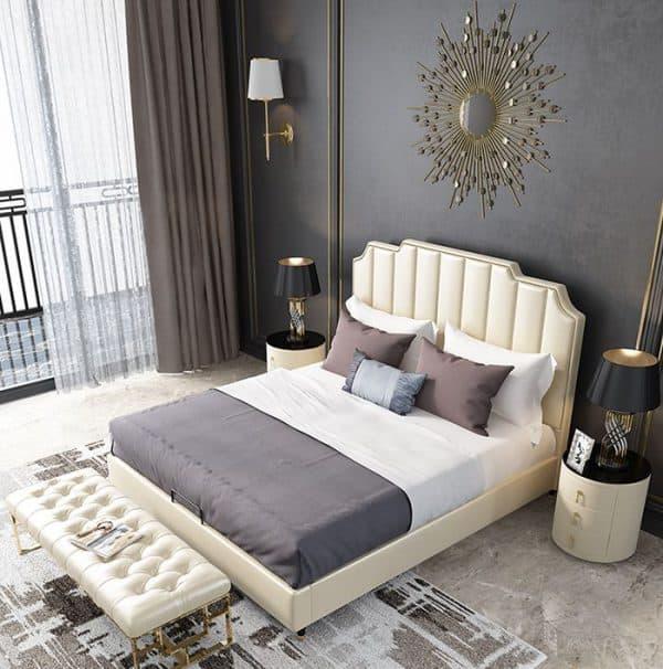 Giường Da Đẹp Mê Mẩn Với Nhiều Màu Sắc Yêu Thích Lựa Chọn |Nội Thất Đương Đại
