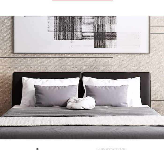 Giường Ngủ Bọc Da Giá Rẻ, Khung Chắc Chắn, Chất Liệu Thoáng Mát |Nội Thất Đương Đại