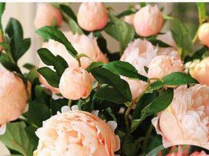 Hoa Lụa Để Bàn Phòng Khách, Phòng Bếp Trang Trí Nhà Cửa  Nội Thất Đương Đại
