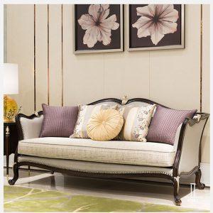 Sofa gỗ tân cổ điển - SKYTC204