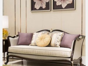 Sofa Gỗ Tân Cổ Điển Cao Cấp Phong Cách Hoàng Gia |Nội Thất Đương Đại