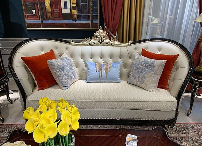 Sofa Tân Cổ Điển Mới Được Thiết Kế Tinh Xảo Cho Phòng Khách