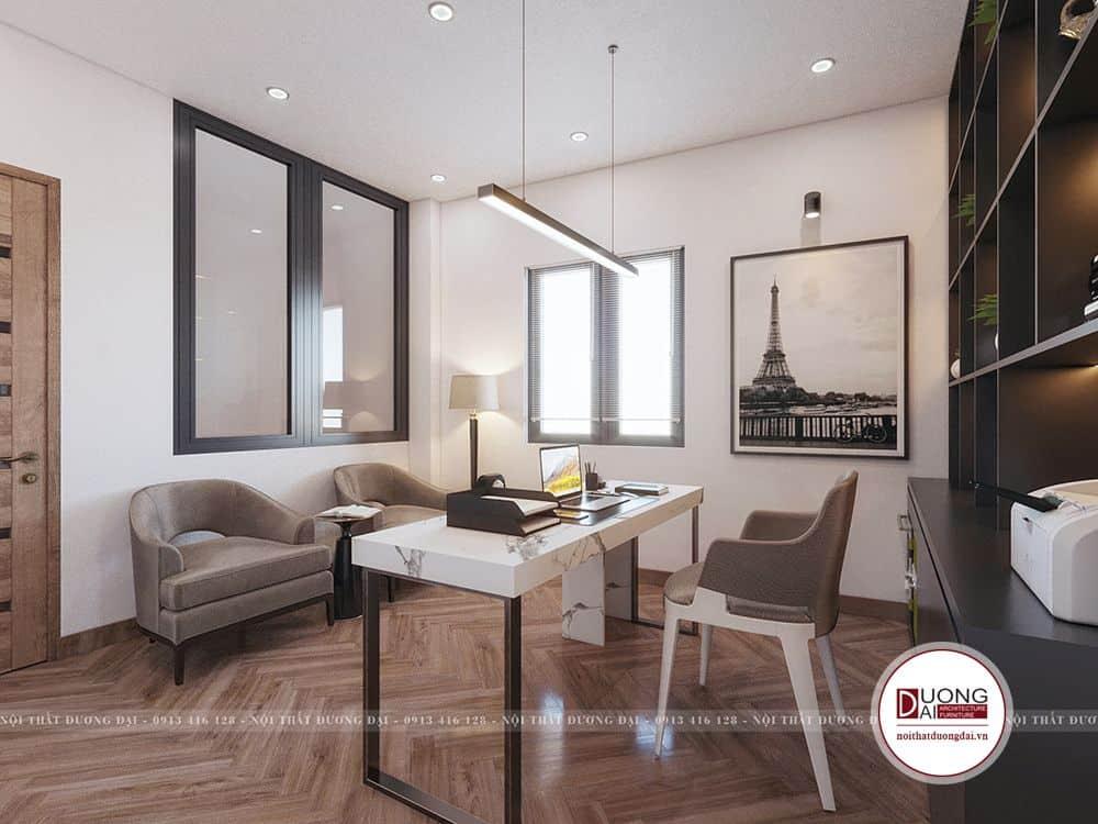 Phòng ngủ Master của dự án
