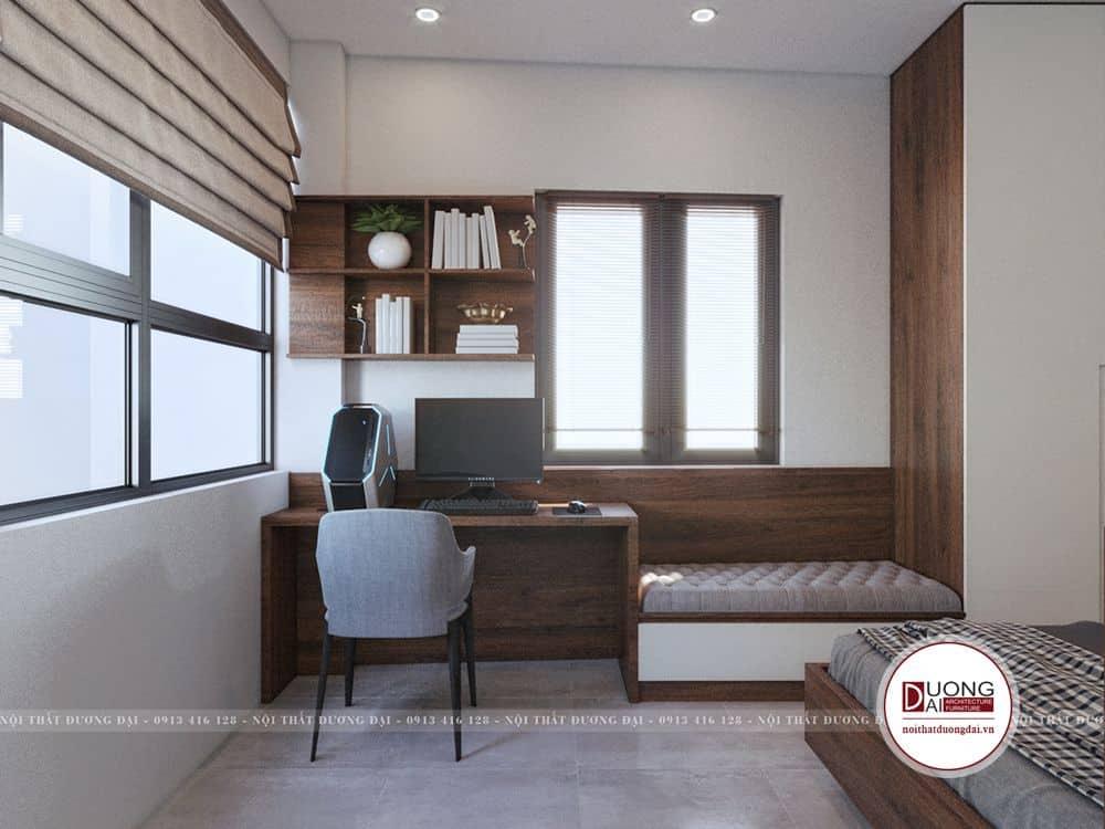 Phòng ngủ thứ 2 nhà chị Giang Thụy Khuê