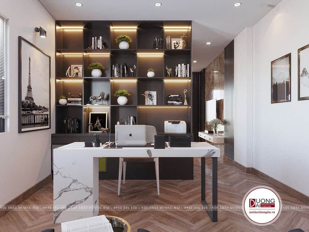 Thiết kế phòng làm việc tại nhà   20+ mẫu nội thất đẹp nhất