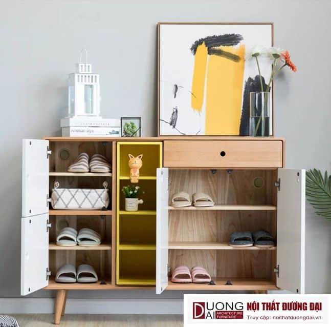Tủ Giày Dép Hiện Đại Thiết Kế Tiện Dụng GHS-5817 Đẹp và Ấn Tượng