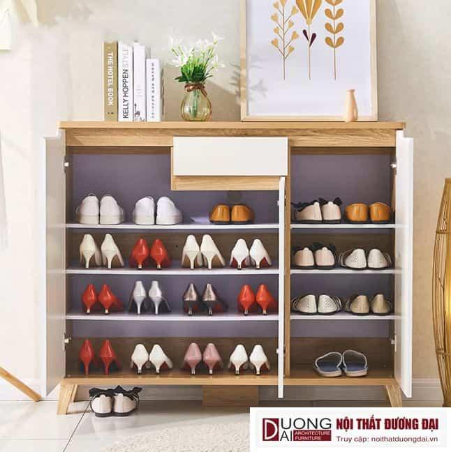 Tủ Giày Gỗ Công Nghiệp Thiết Kế Đẹp Hiện Đại GHS-5710