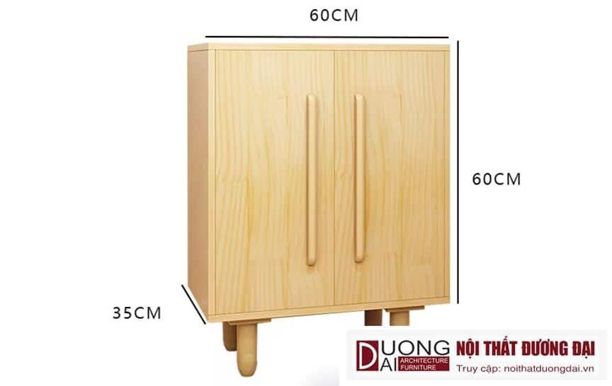 Tủ Giày Hiện Đại Kiểu Dáng Nhỏ Gọn GHS-5533 Đẹp và Sang Trọng