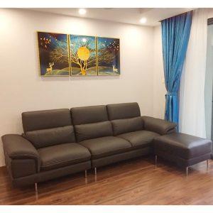 Ghế sofa góc mini - Đỉnh cao trong phong cách thiết kế với đường nét sang trọng và hiện đại.