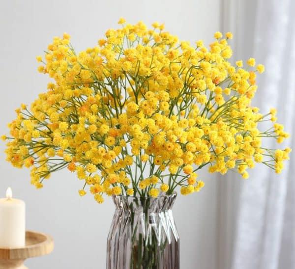 Hoa lụa đẹp đa dạng về mẫu mã và phù hợp với mọi loại không gian