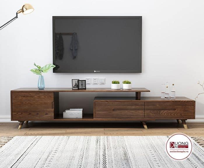 Kệ tivi đẹp và độc đáo với thiết kế hình khối phá cách