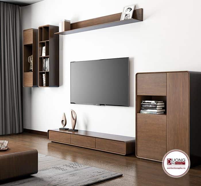 Tủ tivi và tủ trang trí với thiết kế hiện đại đầy độc đáo