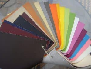 Mẫu da được sử dụng làm vỏ bọc sofa với đa dạng về màu sắc, đảm bảo về chất lượng.