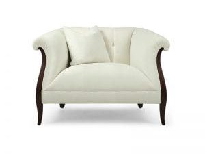 Sofa đơn tân cổ điển - SKYDD349