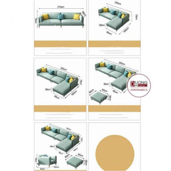 Sofa Góc Da Beamerton