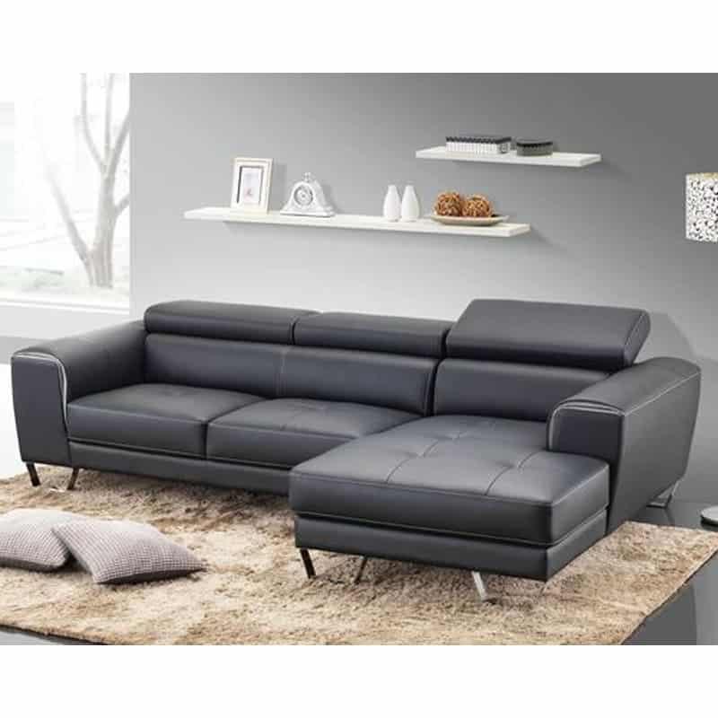 Sofa góc da thật - Đường nét hoàn mỹ, thiết kế đẳng cấp, phong cách vượt trội