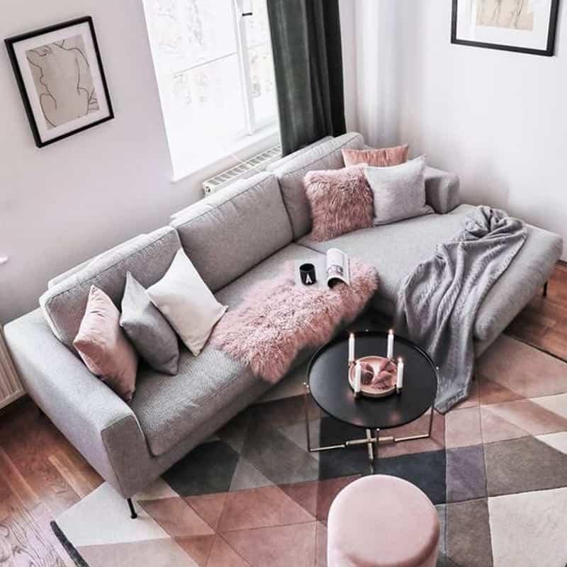 Sofa góc đẹp Hà Nội - Thiết kế tinh xảo, tỉ mỉ - Phong cách châu Âu thời thượng.