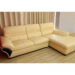 Sofa góc gỗ đệm - Mang hơi thở hiện đại đến không gian phòng khách nhà bạn.