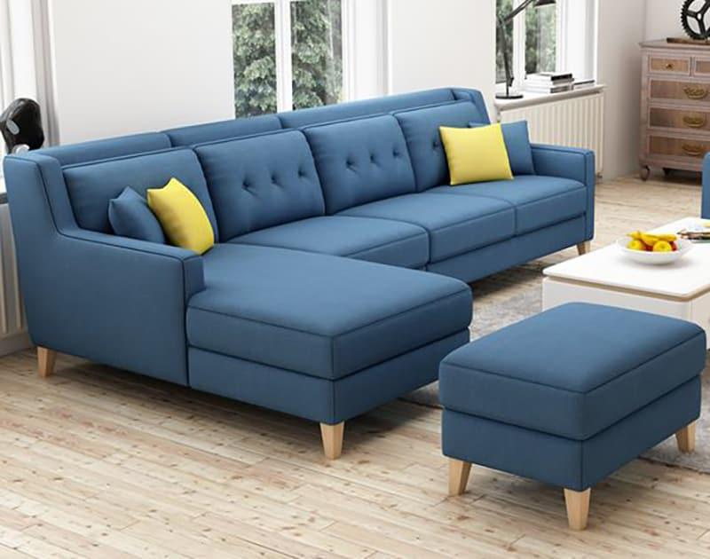 Sofa góc Hà Nội - Trẻ trung, hiện đại, tiện nghi là giá trị cốt lõi của sản phẩm.