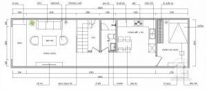 Tư Vấn Thiết Kế Nhà Ống 2 Tầng Trên Diện Tích Đất 60m2 (4x15m) Cho Gia Đình Trẻ |Nội Thất Đương Đại
