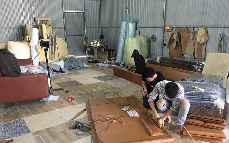 Xưởng Sản Xuất Sofa Tìm Đối Tác | Đơn Vị Thiết Kế |Showroom Nội Thất
