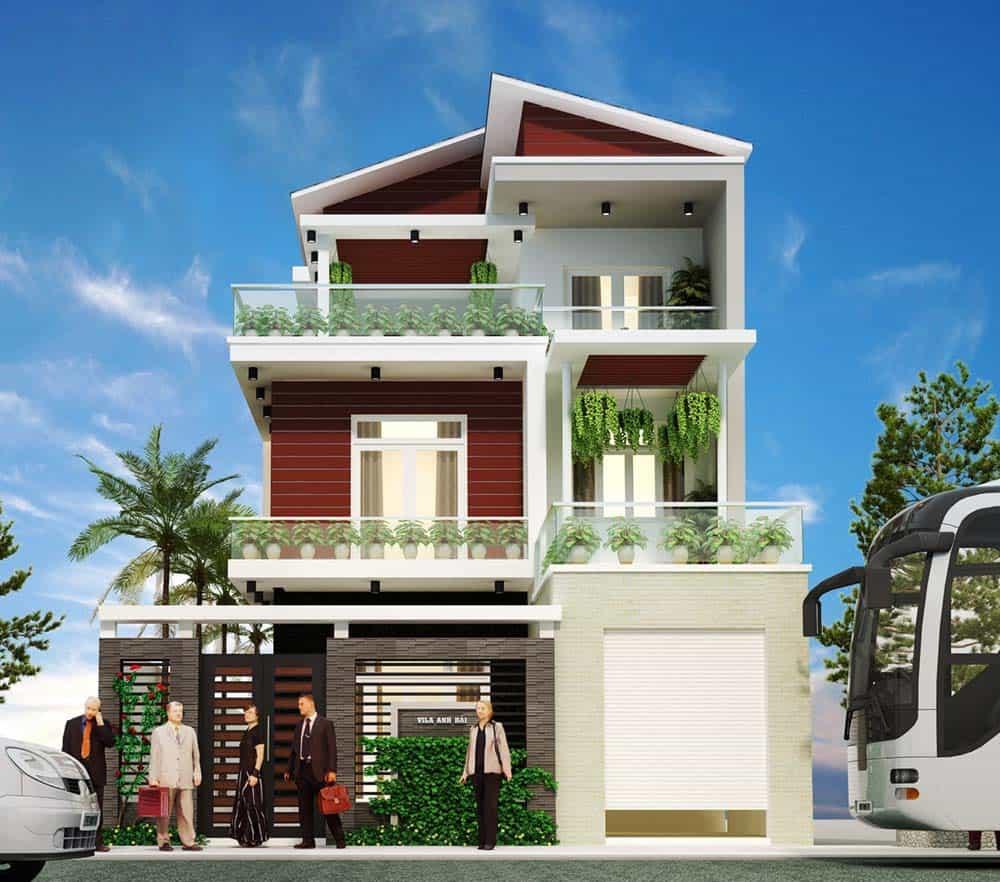Thiết kế căn hộ hiện đại và trang nhã
