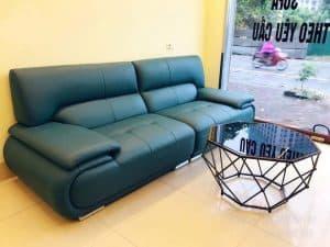 Bàn Giao Sofa Da 2m2 Cho Anh Trung Ở Quận Cầu Giấy Hà Nội