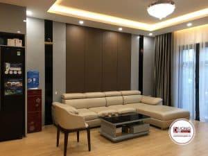 [12/11/2019] Bàn Giao Sofa Da Góc 3m2x1m6 Màu Be Cho Anh Sơn Vincom