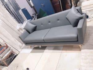 [08/11/2019] Bàn Giao Sofa Màu Xám Cho Chị Lê Chung Cư Ecolake View Đại Từ  Nội Thất Đương Đại