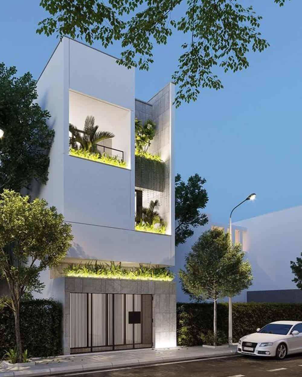 Kiến trúc độc đáo của mẫu thiết kế nhà 5x20m