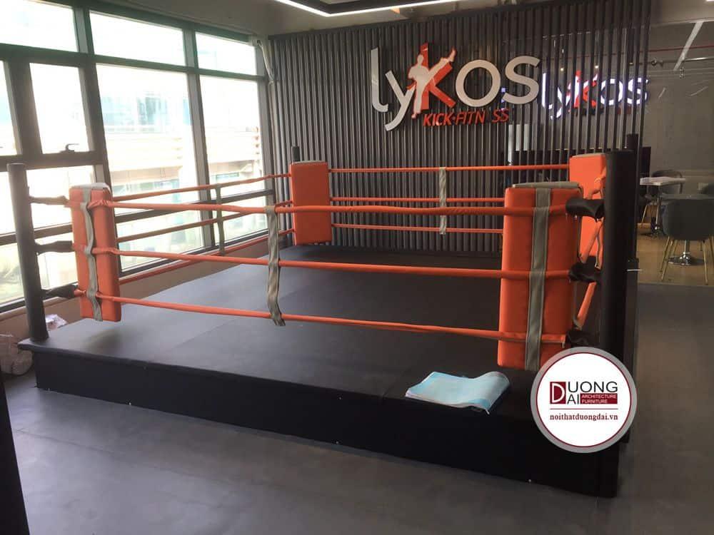[22/11/2019] Bọc Sàn Đấu KickBoxing LYKOS Hoàng Cầu & Nguyễn Trãi  Bàn Giao