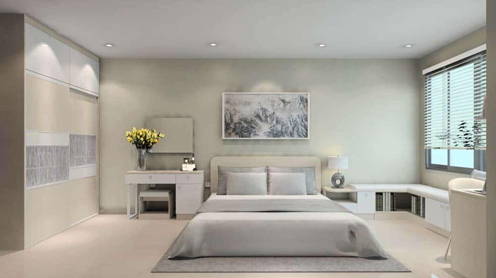 Phòng ngủ Master đầy thư giãn và dễ chịu
