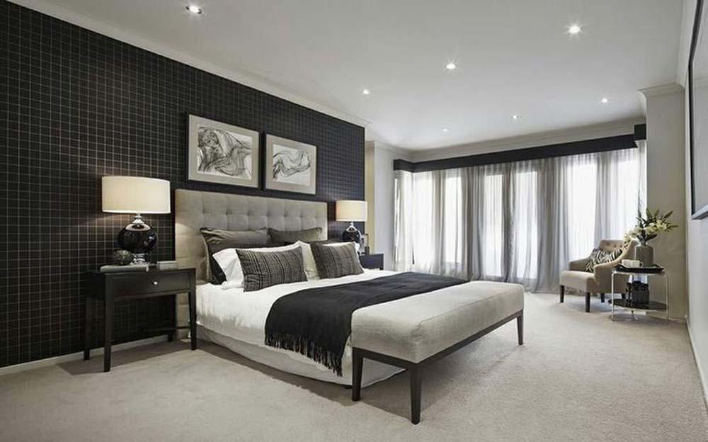 Phòng ngủ hiện đại và cá tính có tầm nhìn đẹp