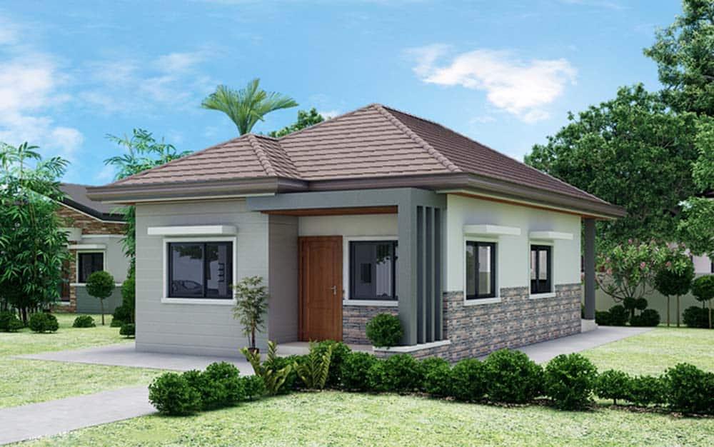 Thiết kế nhà tầng trệt chi phí thấp