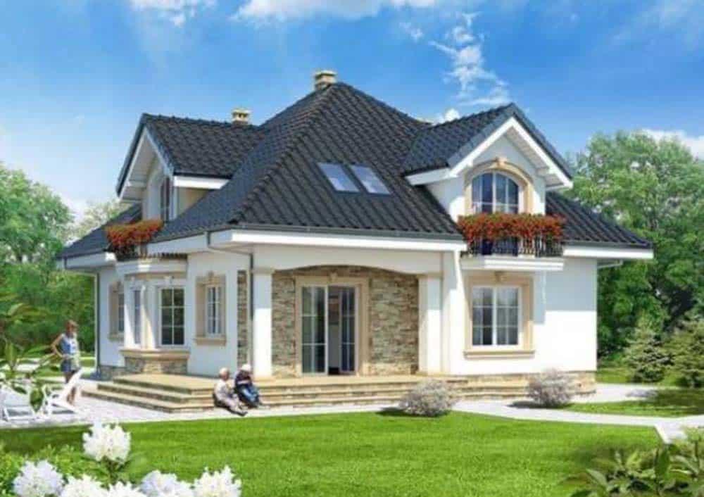 Thiết kế nhà nhỏ xinh đầy tiện nghi