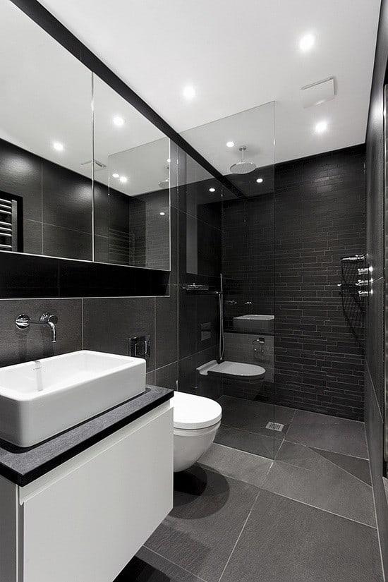 Nhà vệ sinh được bố trí riêng cho các phòng