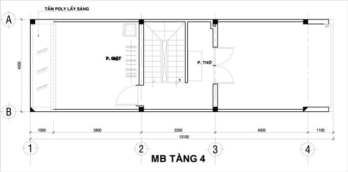 Nhà Ống 4x12m | KTS Tư Vấn Thiết Kế Kiến Trúc Và Nội Thất