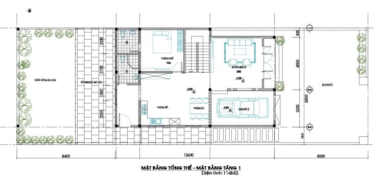 Những Mẫu Nhà 2 Tầng Mái Thái Có Gara Hứa Hẹn Gây Sốt 2020