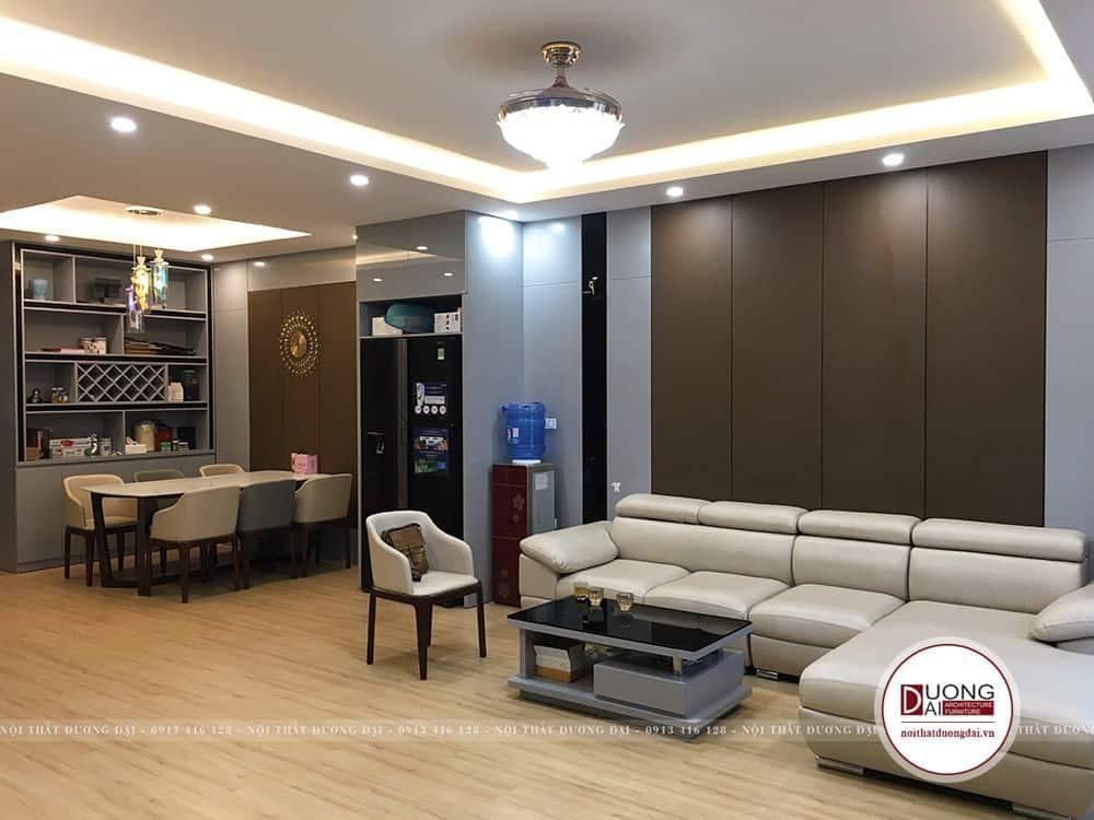 Thi Công Nội Thất Biệt Thự Liền Kề Vincom Plaza |CĐT: Anh Sơn |Nội Thất Đương Đại