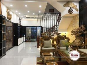 Thi Công Nội Thất Biệt Thự Sơn La Vincom Plaza 80m2 |CĐT: Anh Tùng