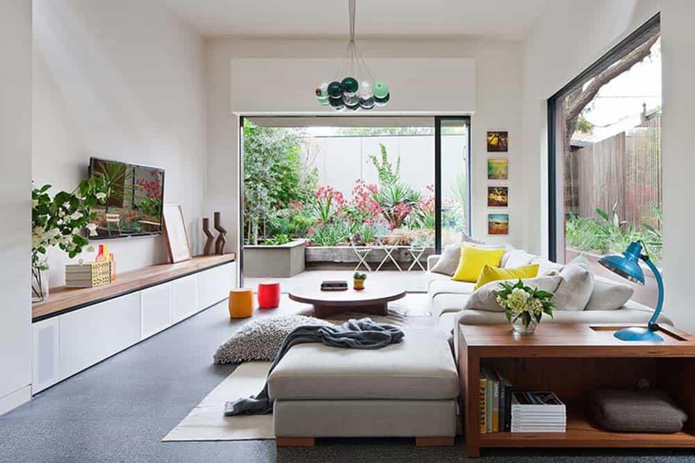 Phòng khách có tầm nhìn siêu đẹp