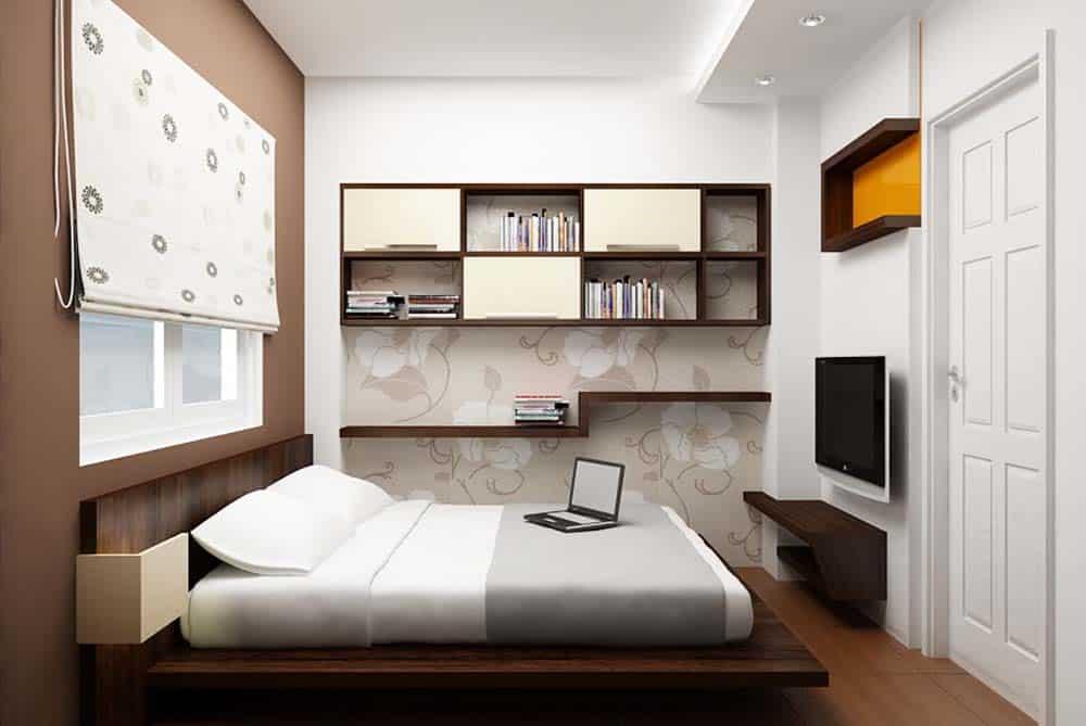 Phòng ngủ cho bé trai tinh tế và tiện nghi