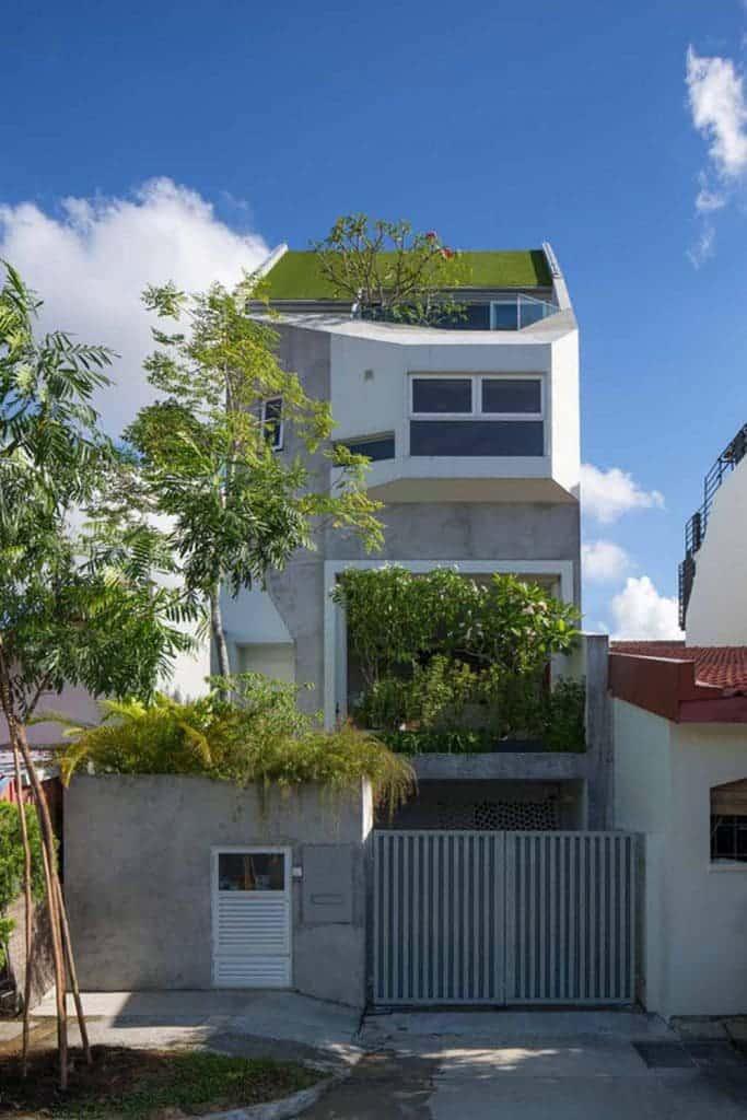 Thiết kế phủ xanh mái nhà