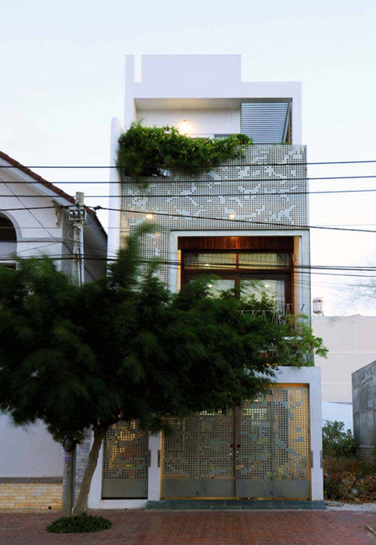 Thiết kế khung sắt sáng tạo cho căn hộ thông thoáng
