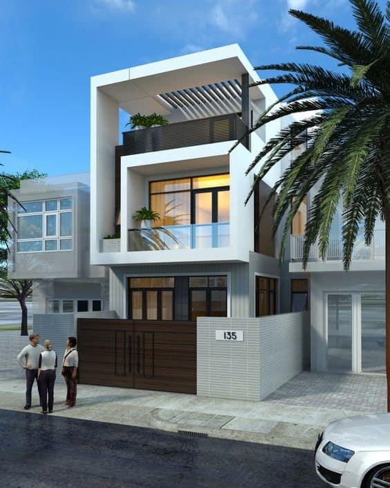 Thiết kế nhà 2 tầng với kinh phí tối ưu chỉ 500 triệu
